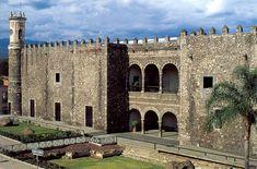 Palacio de Hernan Cortes, Cuernavaca, Morelos, México.