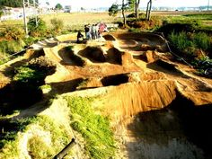 I WILL build a pumptrack in my yard.
