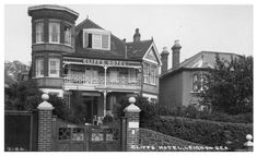 Cliffs Hotel, Leigh-on-Sea. Cliff Hotel, Leigh On Sea, Lodges, Childhood Memories, England, Mansions, House Styles, Hotels, Cabins