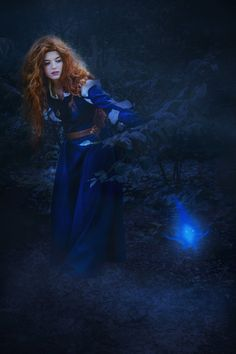 Lead me out into the light by ~katyuna as Merida