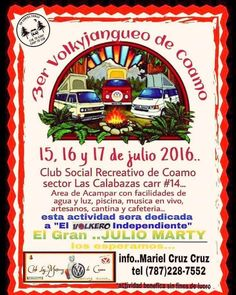 Volkyjangueo de Coamo 2016 #sondeaquipr #volkyjangueocoamo #clubsocialrecreativocoamo #coamo #vwpr