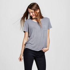 Women's Short Sleeve Softest Crew Tee Gray Xxl - Mossimo Supply Co.