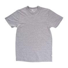 Locally Grown Clothing Co.- Men's Standard Tee- Merino + Cotton Collection #madeinusa
