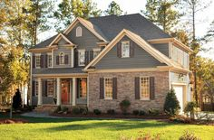 siding and brick house - Google Search