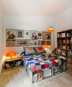 desire to inspires recent photo post about an apartment made out of wooden crates from makeshift walls and a kitchen island base to night stands a