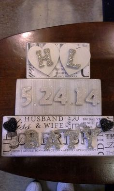 WEDDING BLOCKS