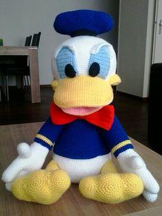 Gehaakte Donald Duck Patroon via Etsy.come