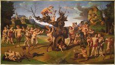 Dionysus war ein junger Gott, der fuer alles steht, was froehlich macht. Er ist der jüngste der großen griechischen Götter.