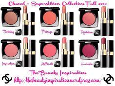 Chanel: Superstition Collection, Fall 2013 La linea Superstion propone sei blush in crema, con altrettanti rossetti coordinati, dai colori vibranti...