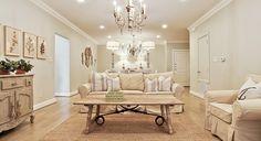 Charming shabby chic living room.  (3116 Rosedale 208, Highland Park)