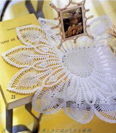 Tecendo Artes em Crochet: Duas Toalhinhas Maravilhosas para Vocês!