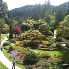 Buschard sunken gardens Victoria BC