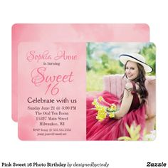 538 best teens 13 17 birthday invitations images on pinterest in