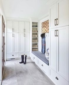 You must know that it is very difficult to keep mudroom clean and tidy, but luckily you can find some furniture items that can really help you in keeping it clean. ideas laundry entry ways 13 Mudroom Design Ideas ideas entryway entry ways House Design, New Homes, Mudroom Cabinets, Room Design, House Interior, House, Home, Interior, Mudroom Design