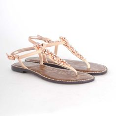 Sam Edelman Gwyneth in Rose Gold with Studs $80