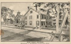 Elm Vale Cottage. Residence of M. Carney, No. Andover, Mass., 1884.