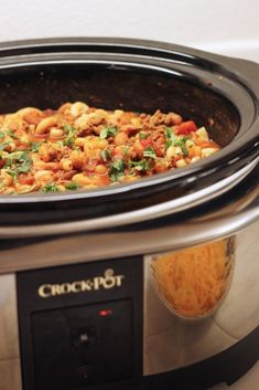 Crockpot Chili Mac Recipe | Good Cheap Eats - Comfort food! So easy and delicious!