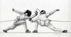 The Art of Fencing Portfolio 2009-2010 by Sascha Brock