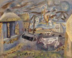 Hodgkins, Frances (1869-1947), Cheviot Farm, 1940, Oil