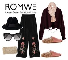 """Romwe"" by ralugoii on Polyvore featuring Gucci, Alexander McQueen, Free People and Michael Kors"