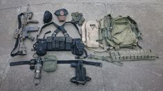 Early OEF loadout by Tactar