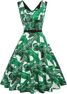 wunderschönes Kleid  Belle Poque werden den Kunden gute Produkte und service bieten. Sollten Sie irgendwelche Problem haben, stehen wir Ihnen gerne zur Verfügung. Über das Kleid Ausschnitt: V Ausschnitt Material: 74% Rayon + 24.4% Nylon + 1.6% Spandex Design: originell Design von Ausschnitt kann Ihnen elegant und charmant aussehen. Achtung: 1. Bitte erlauben Sie eine leichte manuelle Messabweichung für die Kleidlänge. 2. Sollten Sie die Größe zur Auswahl nicht wissen, können Sie unserer… Pin Up Dresses, Cute Dresses, Casual Dresses, Summer Dresses, Vintage Tea Dress, Vintage Dresses, 1950s Dresses, Shenzhen, Swing Rock