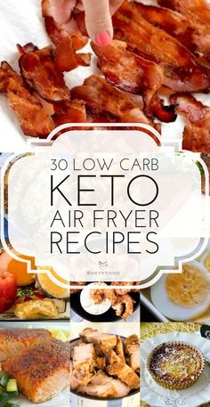 30 Best Low-Carb Keto Air Fryer Recipes For 2020 – Sortathing 30 amazingly crunchy Keto-friendly, Low-Carb air fried recipes // Sort A Thing — Air Fryer Recipes Low Carb, Air Fryer Dinner Recipes, Recipes Dinner, Lunch Recipes, Easy Low Carb Recipes, Paleo Keto Recipes, Keto Foods, Avocado Recipes, Ketogenic Recipes