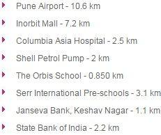 Godrej Infinity Keshav Nagar Pune Location Map Price List Floor Site Layout Plan Review Brochure Call Arun @ +919560214267.