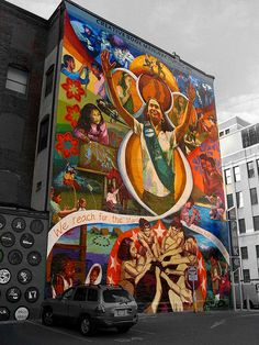 Philadelphia, Girl Scouts Mural Project. by Eddie Hales, via Flickr~I used to be a G.S. leader and a troop :)
