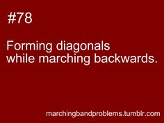 Marching Band Problems. For Dayton!!!