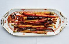Harissa-and-Maple-Roasted Carrots Recipe - Bon Appétit