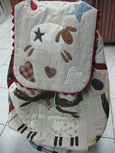Mi pequeño mundo Patchwork: Carrito de compra en patchwork