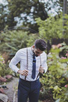 skinny suspenders | alixann loosle photography | via: style me pretty