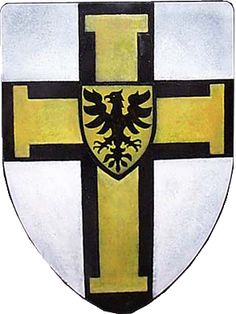 For Frederick, Duke of Saxony (of the House of Wettin) - Hochmeister of the Teutonic Knights 1498-1512.