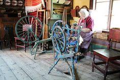Spinning at Stundars: Frida Paulin