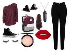 """""""Free"""" by titi-reina on Polyvore featuring moda, EAST, Converse, Victoria's Secret y MAC Cosmetics"""