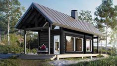 Katso Honkarakenne Saari-sauna 25 A1 ja yli tuhat muuta talomallia Meillä kotonan Talohausta.