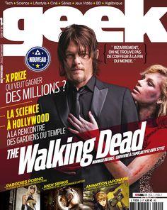 Geek Magazine - N° 2 - Juillet & Août 2014 Norman Reedus, The Walking Dead, Geek Magazine, Geek Stuff, Movies, Movie Posters, Geek Things, Films, Film Poster