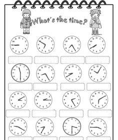 hodiny - pracovní list - Hledat Googlem