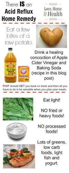 There IS an Acid Reflux Home Remedy - Love, Home, and Health