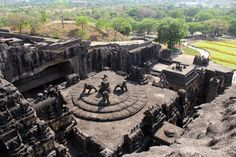 Kailash (Cave No 16 of Ellora Caves) Photo by Pradip Das — National Geographic Your Shot