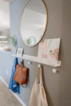 Small Apartments, Rental Apartments, Cheap Home Decor, Diy Home Decor, Small Space Nursery, Bedroom Small, Diy Bedroom, Home Design, Interior Design