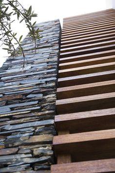 Arquitectura Johannesburgo hecho de roca, el acero y la madera | Designhunter - Arquitectura y diseño del blog