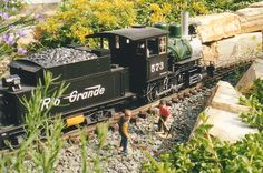 We enjoyed our train garden for 13 years