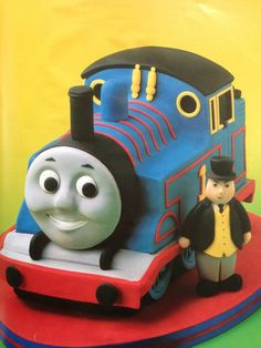 Thomas Cake-THIS is the best thomas,,,,also- Thomas is engine #1 so that's why the #1....even though Grant will be 2
