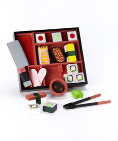 Look at this Melissa & Doug Sushi Slicing Play Set on #zulily today!