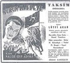 1949 Vurun Kahpeye / Gazete İlanı