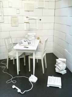 Migros, Scenery Design: GUSTAVE  #Installation #Event #White