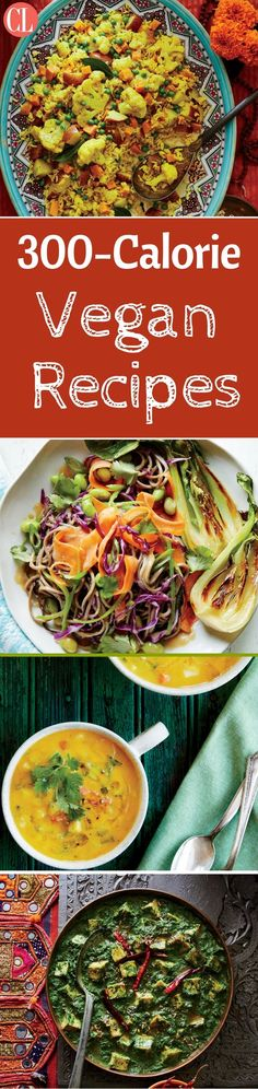 Browse our collection of low-calorie vegan recipes to find delicious recipes that fit into your plant-based preferences and your calorie budget. We'll get you started with this collection of vegan recipes that are short on calories but big on flavor. The only arithmetic you'll be responsible for is subtracting pounds. | Cooking Light