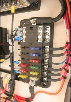 Good looking wiring job.